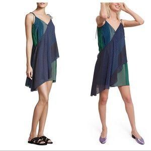 NWT Opening Ceremony Silk Foulard Wrap Dress Sz10